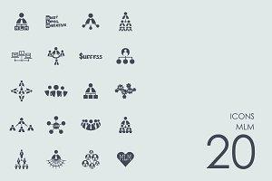 MLM icons