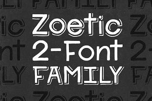 Zoetic 2-Font Family