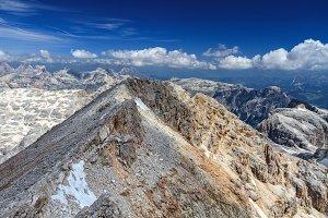 Dolomiti - view from Piz Boe