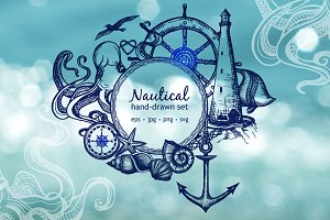 Sketch Nautical Set