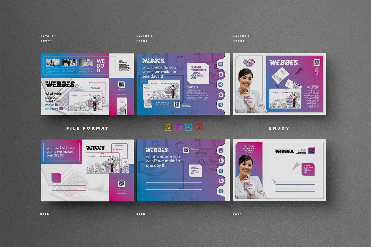 Postcard - Card Templates | Creative Market Pro