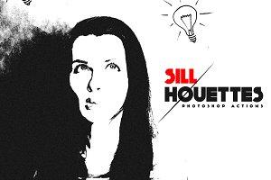 Sillhouette Photoshop action