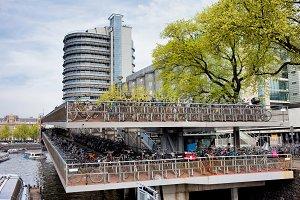 Bike Parking in Amsterdam