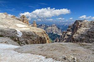 Dolomiti - Mezdi valley in Sella mount