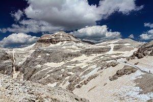 Dolomiti - Piz Boe' peak