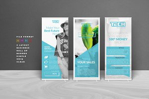 Indesign banner photos graphics fonts themes templates business banner wajeb Image collections