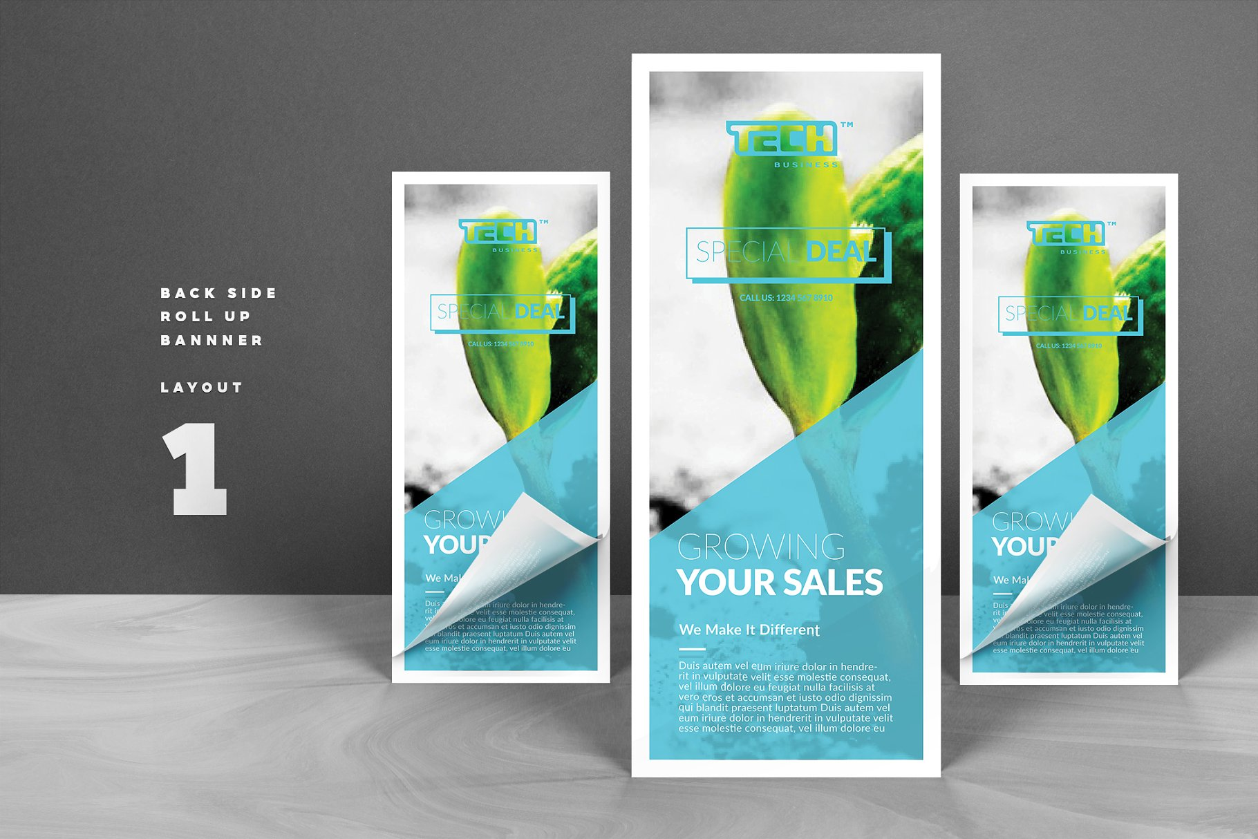 Business banner flyer templates creative market pro wajeb