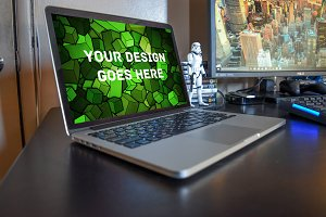 MacBook Display Mock-up #29