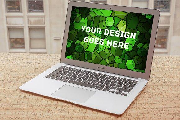 MacBook Display Mock-up #16 in Mobile & Web Mockups