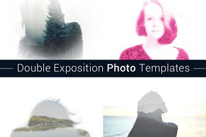 Double Exposition Photo Templates