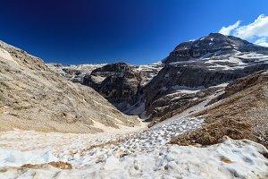 Dolomiti - Val Lasties and Piz Boe' peak