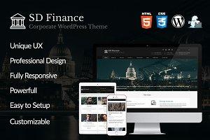 SD Finance - WordPress Theme