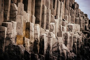 Basalt Stacks of Reynisdrangar