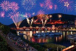 Heidelberg's Castle Illumination 2