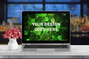 MacBook Display Mock-up #48