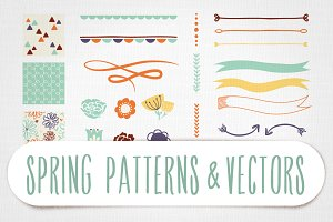Spring Patterns & Vectors