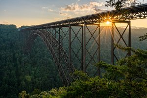New River Gorge Bridge in WV