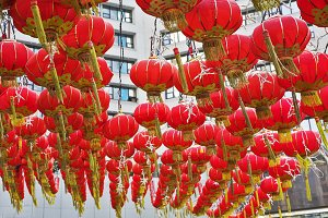Chinese city in New year