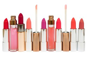 Collection of lipsticks