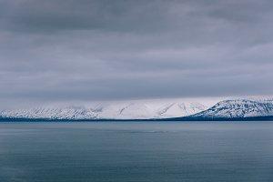 Minimal Winter Seascape