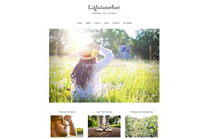 Lightworker WordPress Theme
