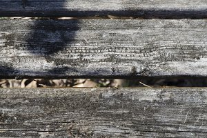 Rough Wood Fence Texture