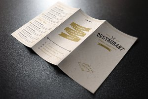 Elegant Food Menu 3 Light Version