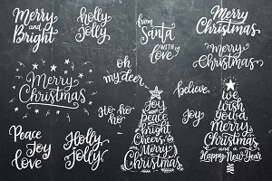 Christmas Overlays Set from Santa