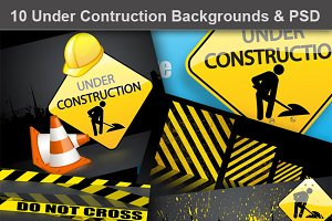 Under Construction Backgrounds