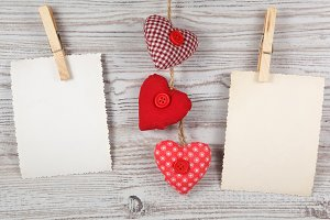 Heart-shaped decoration