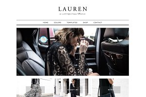 Lauren - Wordpress theme