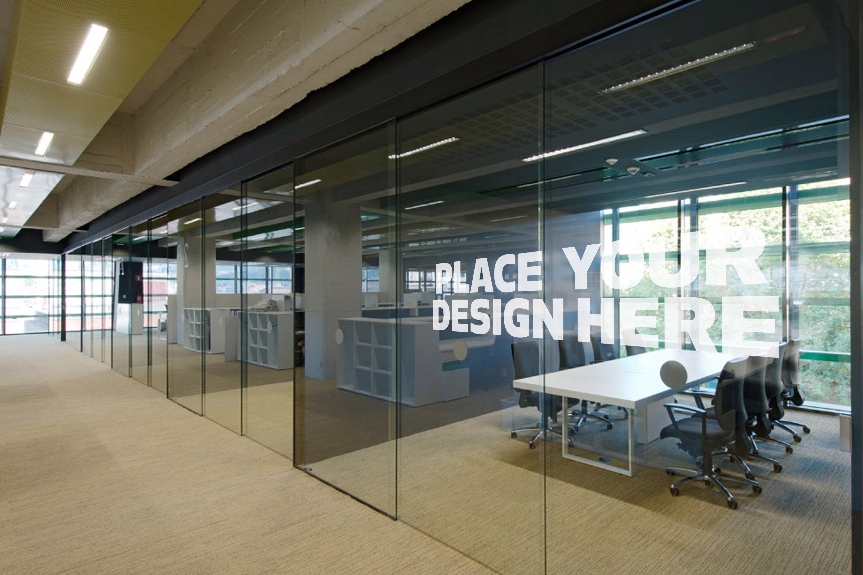 office indoor outdoor mock up 2 product mockups creative market. Black Bedroom Furniture Sets. Home Design Ideas