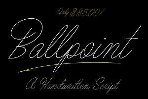 Ballpoint Script