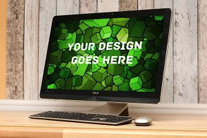 Windows PC Display Mock-up #3