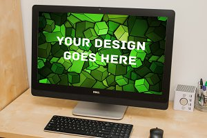 Windows PC Display Mock-up #6