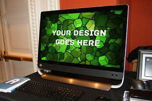 Windows PC Display Mock-up #7
