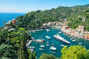 Portofino Italy Mediterranean Sea