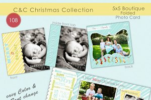Christmas Photo Card Selection #108