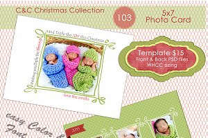 Christmas Photo Card Selection #103