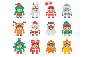 Christmas costumes kids