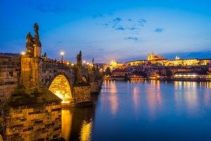 River Vltava Prague