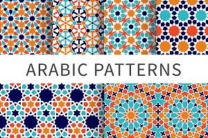 Islamic seamless moroccan pattern