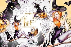 Halloween Clipart Boo!