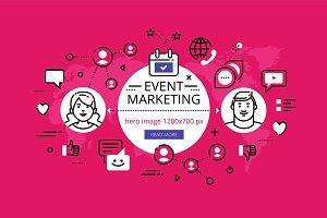 Event Marketing hero banners