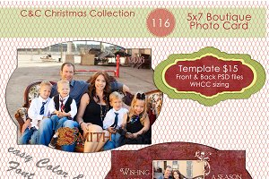 Christmas Photo Card Selection #116