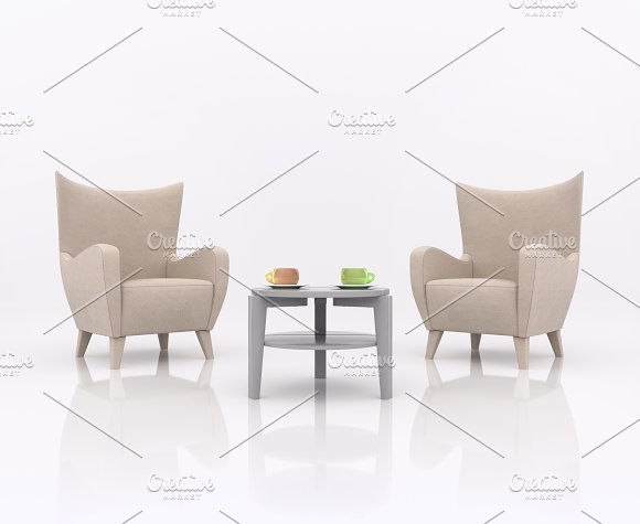 Furniture. Chairs.  - Illustrations