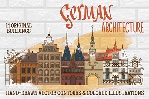 German Architecture Hand-drawings