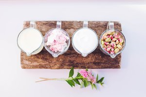 Ingredients for dessert