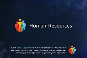 Human Resource logo design