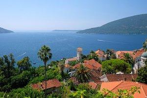 Old town of Herceg Novi, Montenegro